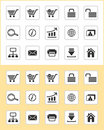 WWW icons Stock Photography