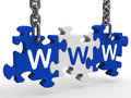 Www Puzzle Shows Online Websites Or Internet Royalty Free Stock Photo