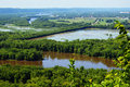 Wyalusing State Park Royalty Free Stock Photo
