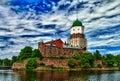 Wyborg Castle (φωτογραφία HDR) Στοκ εικόνες με δικαίωμα ελεύθερης χρήσης