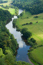 Wye valley symonds yat the river at with canoes Stock Images