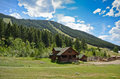 Wyoming summer time in jackson hole Royalty Free Stock Photos