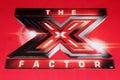 X Factor Logo at the FOX's  Royalty Free Stock Photo