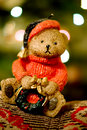 X-mas bear Royalty Free Stock Photography