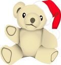 X-mas bear Stock Images