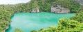 & x28; Panorama & x29; MU KOH ANGTHONG National Marine Park, Surat Thani , Royalty Free Stock Photo