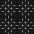 X seamless pattern, texture with dotted cross Royalty Free Stock Photo
