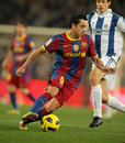 Xavi Hernandez of Barcelona Royalty Free Stock Photos