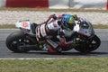 Xavier Simeon, Moto2 Montmelo Royalty Free Stock Photo