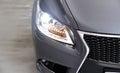 Xenon headlights expensive japan car Royalty Free Stock Photography