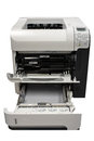 Xerox multifunction machine and paper Stock Photo