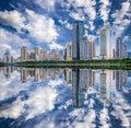Xiamen, China City Skyline