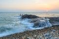 Xiamen Huandao Road Seascape Sunset