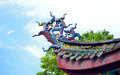 Xiamen sculpture on the eaves of ancient buildings eastphoto tukuchina still life Royalty Free Stock Image