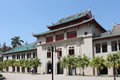 Xiamen university campus in southeast china qunxian building of has one of the most beautiful Royalty Free Stock Photo