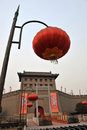 Xian(xi'an) city wall Royalty Free Stock Photography
