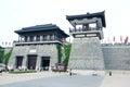 Xiang yu kings hometown the scenic spot of in jiangsu china Royalty Free Stock Images