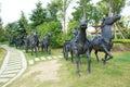 Xiang yu kings hometown the scenic spot of in jiangsu china Stock Photography