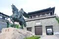 Xiang yu kings hometown the scenic spot of in jiangsu china Stock Photo