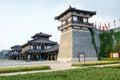 Xiang yu kings hometown the scenic spot of in jiangsu china Royalty Free Stock Photos