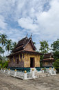 Xieng Thong temple, Ancient temple, Laos. Royalty Free Stock Photography