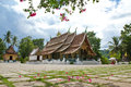 Xieng thong temple the most beautiful of luang prabang the world heritage town Stock Image