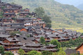 Xijiang thousand households hmong village in china Stock Photography