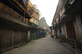 Xingping old street Royalty Free Stock Images