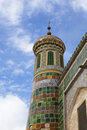 Xinjiang: islamic minaret Stock Photo