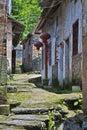 Xiongcum Ancient Village near Guilin China Royalty Free Stock Photo