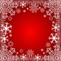 Xmas background or winter seasonal background where you can place your information Stock Photos
