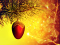 Xmas backgrounds with beauty bokeh for your design Stock Photo