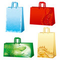 Xmas bags Royalty Free Stock Photo