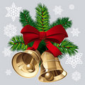 Xmas Bells Stock Image