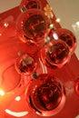 Xmas bells abstract Royalty Free Stock Photo