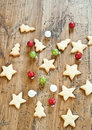 Xmas cookies Stock Photography