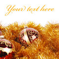 Xmas decorations Royalty Free Stock Images