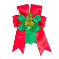 Xmas gift bow Royalty Free Stock Photography