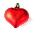 Xmas heart Royalty Free Stock Image