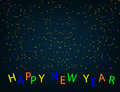 Xmas and New Year holidays design modern greeting card. Flat illustration.