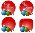 Xmas Ornament Backgrounds Royalty Free Stock Images