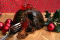 Xmas pudding Royalty Free Stock Photos