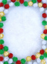 Xmas stationary background Royalty Free Stock Images