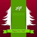 Xmas tree vector illustration of Royalty Free Stock Photos