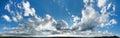 Xxl cloudscape panorama high alpine tundra rocky mountains colorado Stock Photos