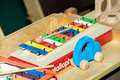 Xylophone kids toy Royalty Free Stock Photo