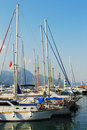 Yacht club in Kemer, Turkey Royalty Free Stock Photo