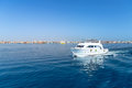 Yacht cruise on red sea in egypt Stock Image