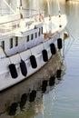 Yacht fenders Royalty Free Stock Photo