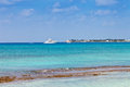 Yacht harbor grand cayman cayman islands Royalty Free Stock Photo